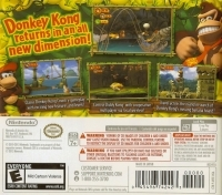 Donkey Kong Country Returns 3D - Nintendo Selects Box Art