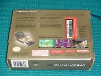 Nintendo Game Boy Advance SP - Gold [NA] Box Art