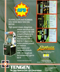 APB: All Points Bulletin Box Art