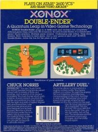 Artillery Duel/Chuck Norris Superkicks Box Art