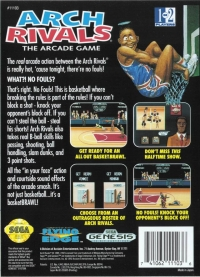 Arch Rivals: The Arcade Game Box Art