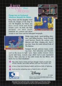 Ariel: Disney's The Little Mermaid Box Art