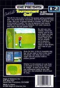 Arnold Palmer Tournament Golf Box Art