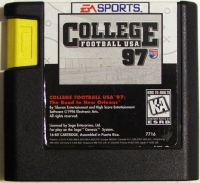 College Football USA 97 Box Art