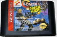 Contra: Hard Corps Box Art