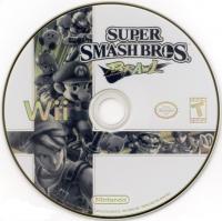 Super Smash Bros. Brawl (black ESRB) Box Art