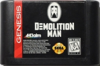 Demolition Man Box Art