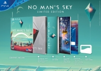 No Man's Sky - Limited Edition Box Art