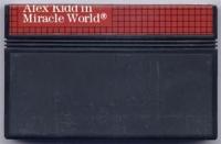 Alex Kidd in Miracle World (cardboard 3 tabs, letter B) Box Art
