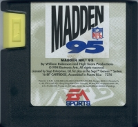 Madden NFL 95 Box Art