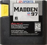 Madden NFL 97 Box Art