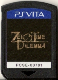 Zero Time Dilemma Box Art