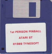 1st Person Pinball Box Art