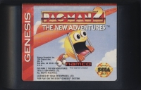 Pac-Man 2: The New Adventures (Acclaim cart) Box Art