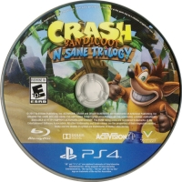 Crash Bandicoot N. Sane Trilogy Box Art