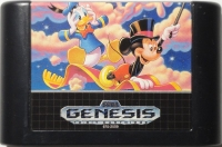 World of Illusion Starring Mickey Mouse and Donald Duck (Japan cart) Box Art