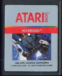 Asteroids (Silver Picture Label) Box Art