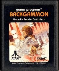 Backgammon (picture label) Box Art