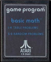 Basic Math (Text # Label) Box Art