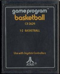 Basketball (Text Label) Box Art