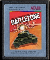 Battlezone (Silver box) Box Art