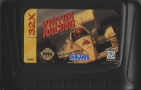 Virtua Racing Deluxe Box Art