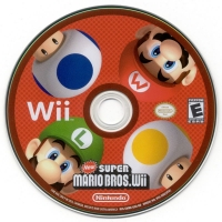 New Super Mario Bros. Wii (Not for Resale) Box Art