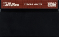 Cyborg Hunter Box Art