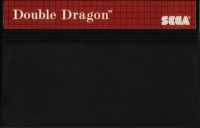 Double Dragon (red label) Box Art