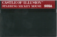 Castle of Illusion Starring Mickey Mouse (8 languages) Box Art