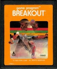 Breakout (Orange Picture Label) Box Art