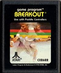 Breakout (Black Picture Label) Box Art