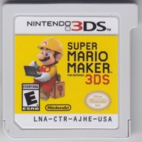 Super Mario Maker for Nintendo 3DS Box Art