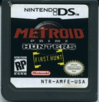 Metroid Prime: Hunters - First Hunt [NA] Box Art