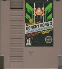 Donkey Kong 3 - Arcade Classics Series (3 screw cartridge) Box Art