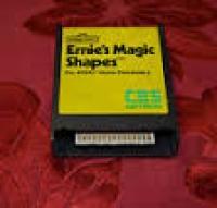 Ernie's Magic Shapes Box Art