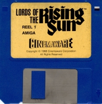 Lords of the Rising Sun Box Art
