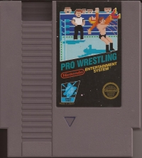 Pro Wrestling (5 Screw Cartridge) Box Art
