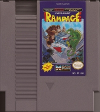 Rampage (oval seal) Box Art