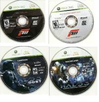 Forza Motorsport 3 / Halo 3: ODST Box Art