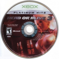 Dead or Alive 3 - Platinum Hits Box Art