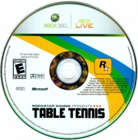Rockstar Games Presents: Table Tennis Box Art
