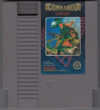 Commando (5 screw cartridge) Box Art