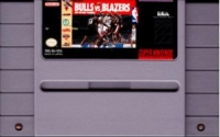 Bulls vs. Blazers and the NBA Playoffs Box Art