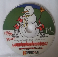14 99 - joulukalenteri: 24 yllätystä Sinulle - Kopuutteri (Contains: Pelit: 14 99 - kompuutteri) Box Art