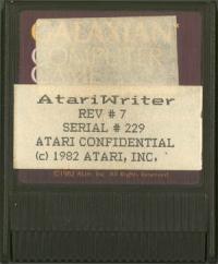 AtariWriter Rev7 Box Art