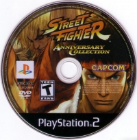 Street Fighter: Anniversary Collection Box Art