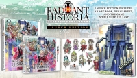 Radiant Historia: Perfect Chronology - Launch Edition Box Art