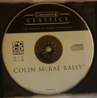 Colin McRae Rally - Codemasters Classics Box Art