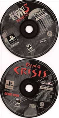Resident Evil 3: Nemesis (Dino Crisis Demo) Box Art